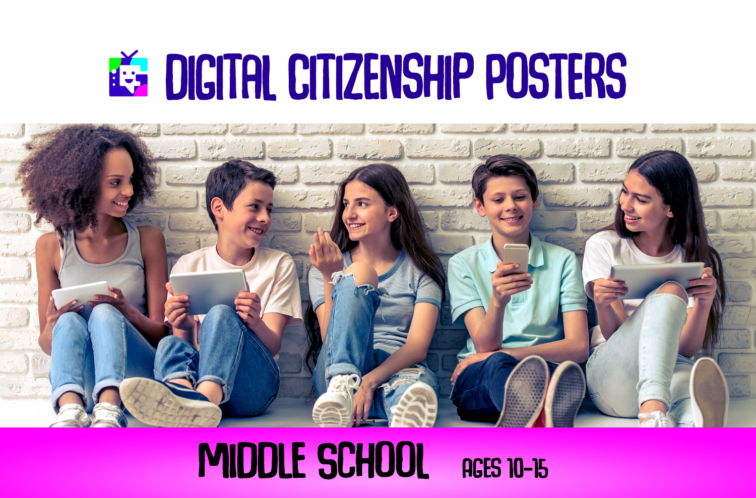 Digital Citizenship Posters