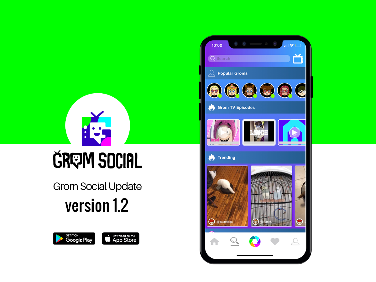 Grom Social Update – Version 1.2 5