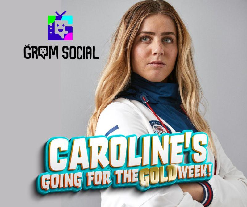 Caroline Marks Grom Social